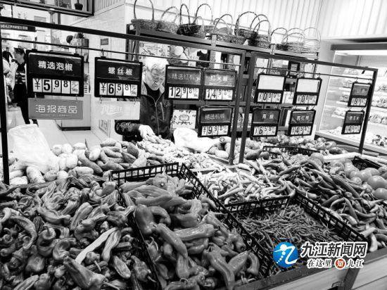 """九江蔬菜價格持續上漲""""辣翻天""""來襲 專家"""